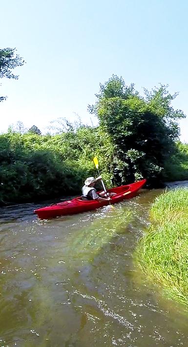 Weekendowe spływy kajakowe