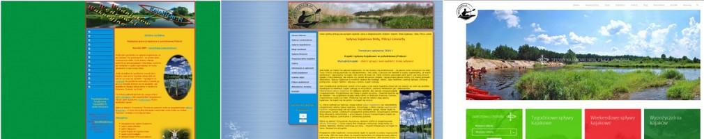 Strona www.kajakiem.pl