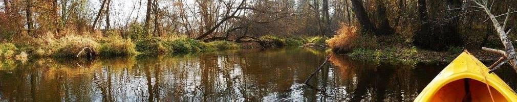Spływ kajakowy jesienią, czyli już chłodniej i częściej pada deszcz